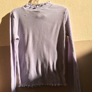 Divided x H&M Lavender Top